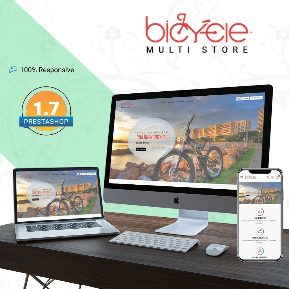 theme - Sports, Activities & Travel - Bicycle Multi Store - 1