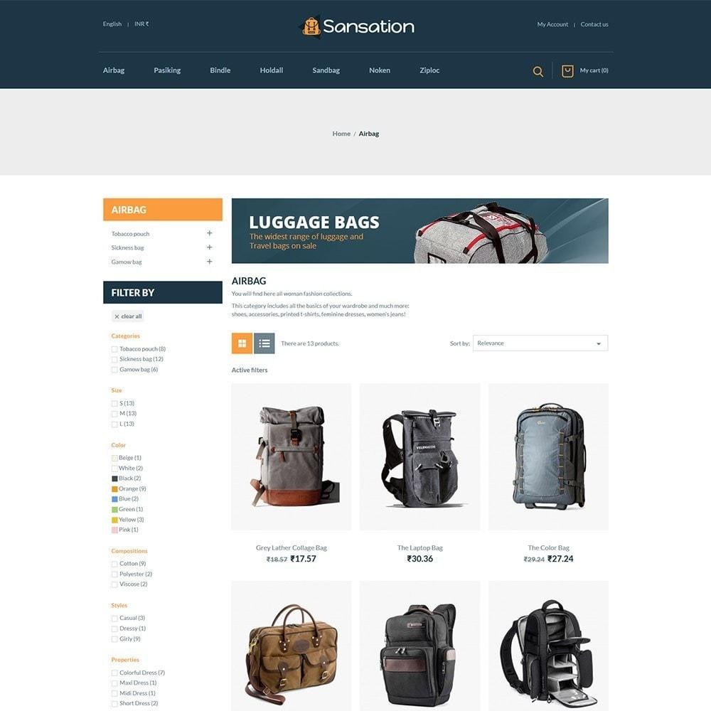 theme - Mode & Schoenen - Sansation Bag Store - 3