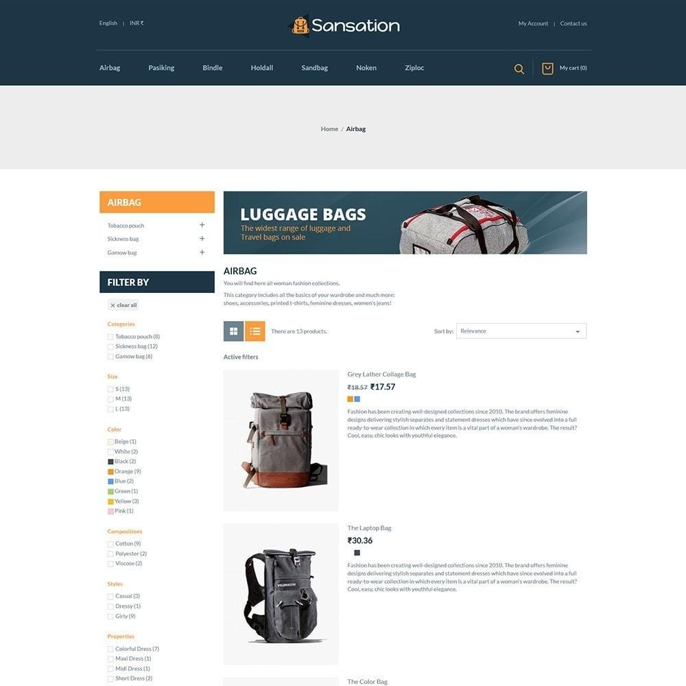 theme - Mode & Schoenen - Sansation Bag Store - 4