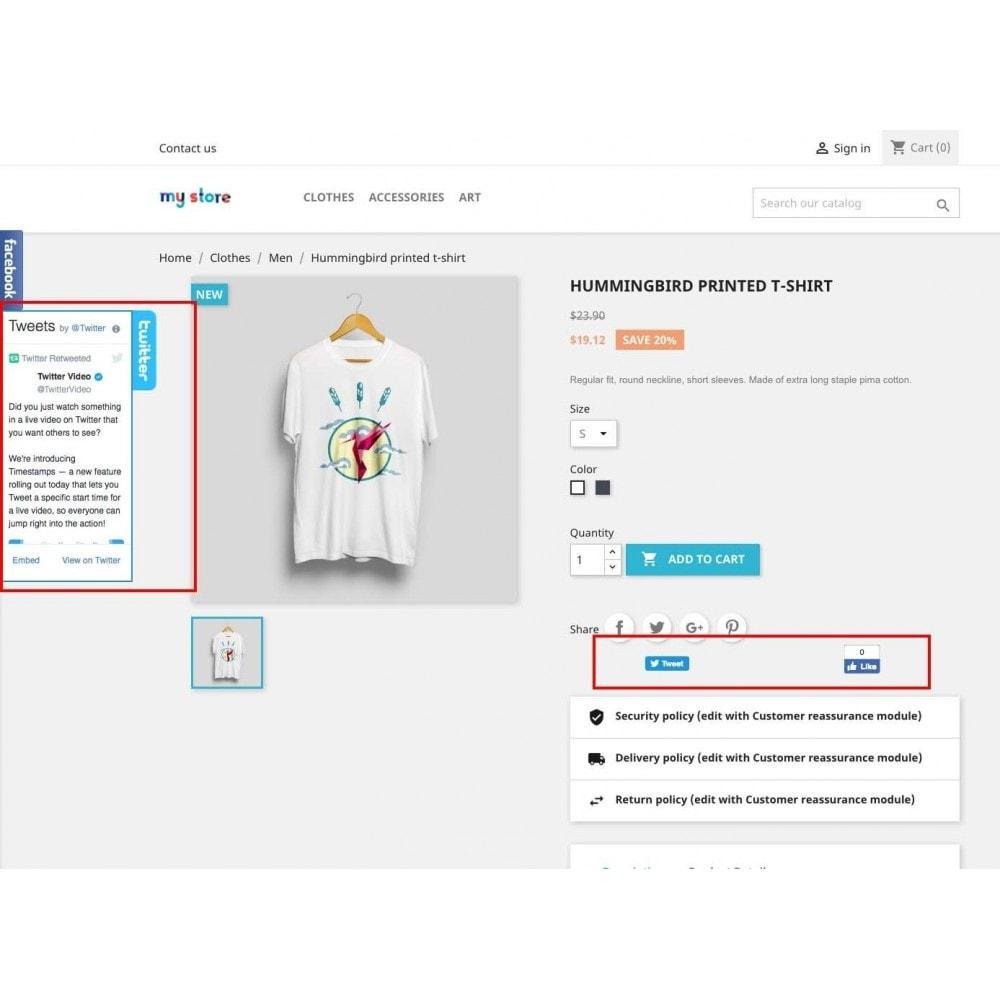 module - Виджеты для социальных сетей - Social Widgets (2 in 1) - 1