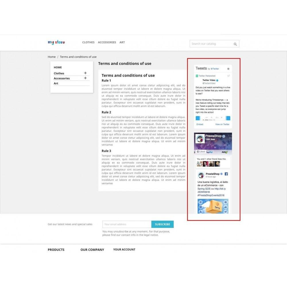 module - Виджеты для социальных сетей - Social Widgets (2 in 1) - 6