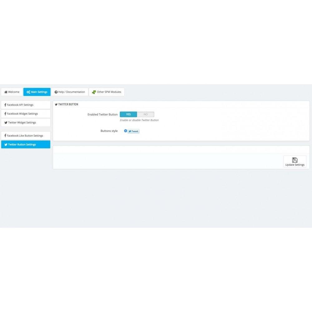 module - Виджеты для социальных сетей - Social Widgets (2 in 1) - 10