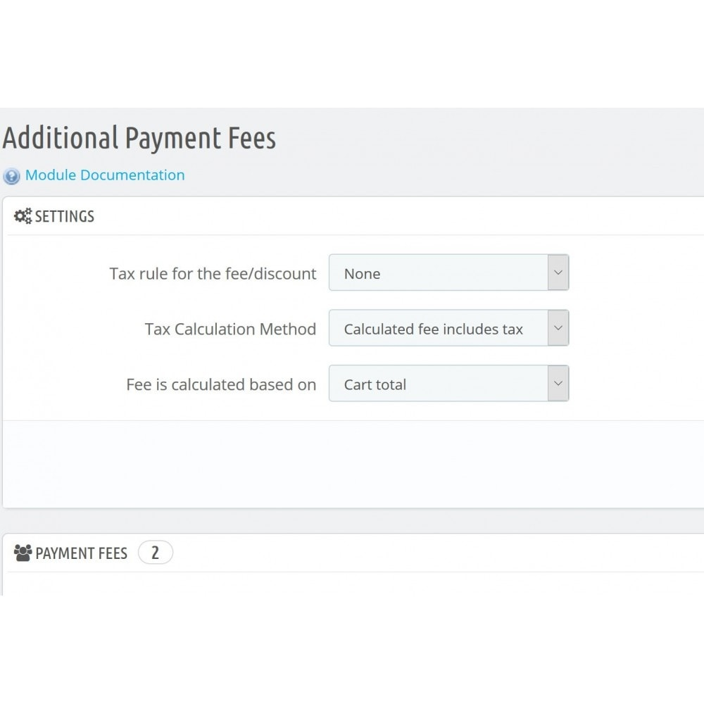 module - Andere betaalmethodes - Additional Payment Fees - 2