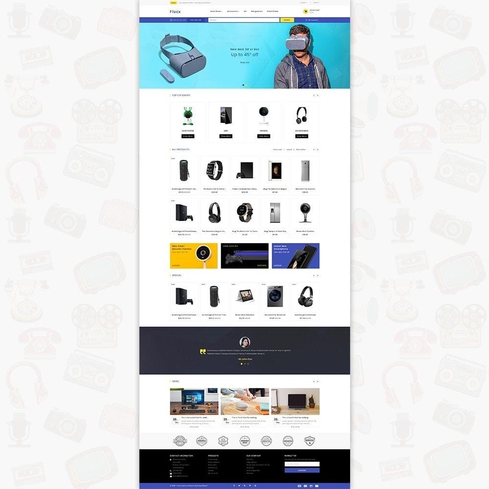 theme - Elektronik & High Tech - Flucx -  The Mega Store - 2