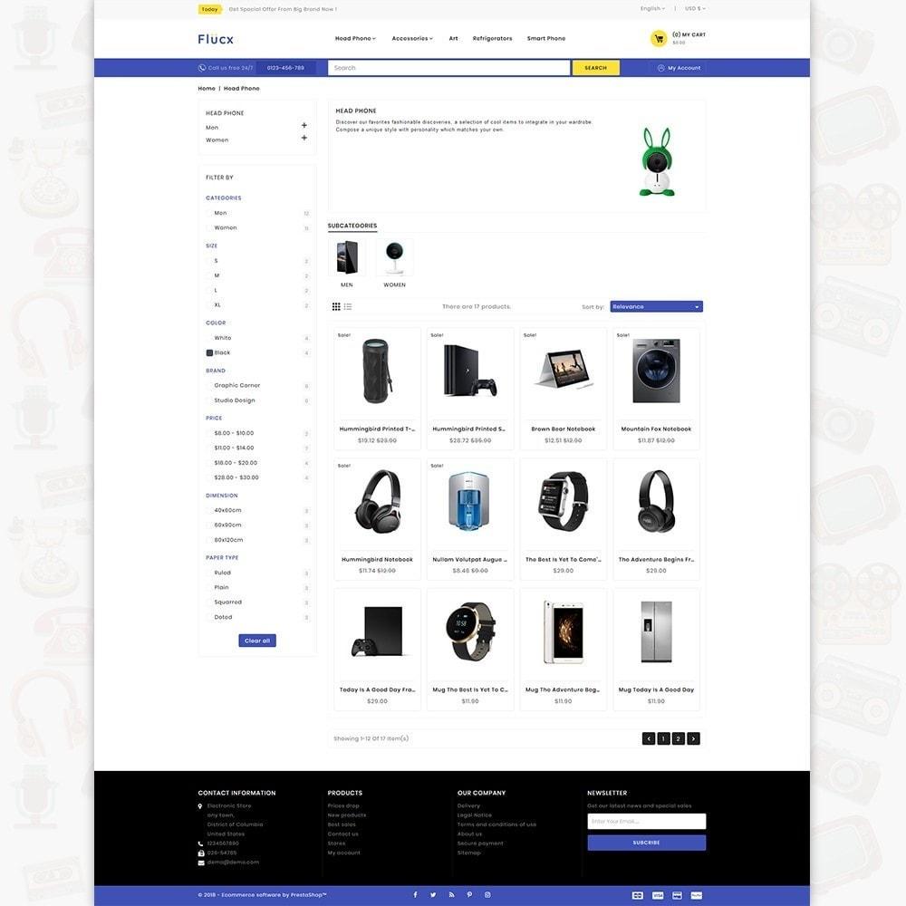 theme - Elektronik & High Tech - Flucx -  The Mega Store - 3