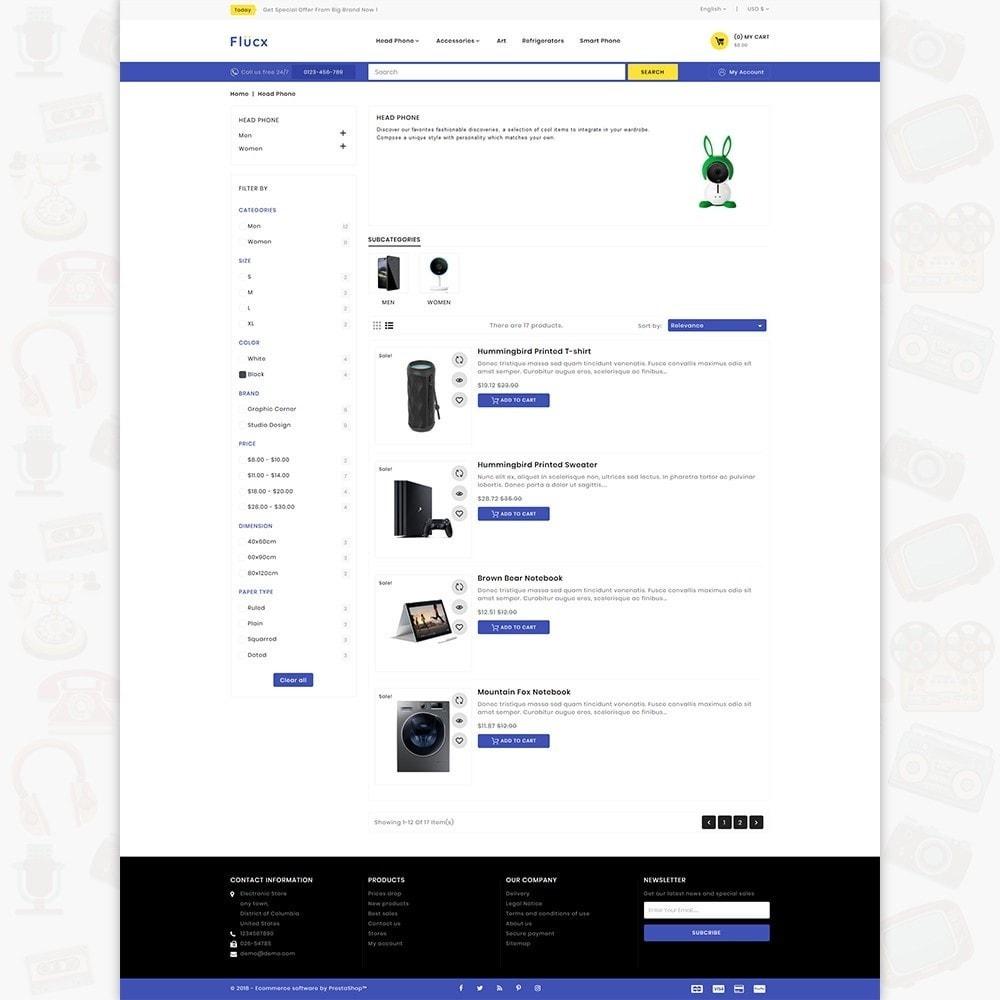 theme - Elektronik & High Tech - Flucx -  The Mega Store - 4