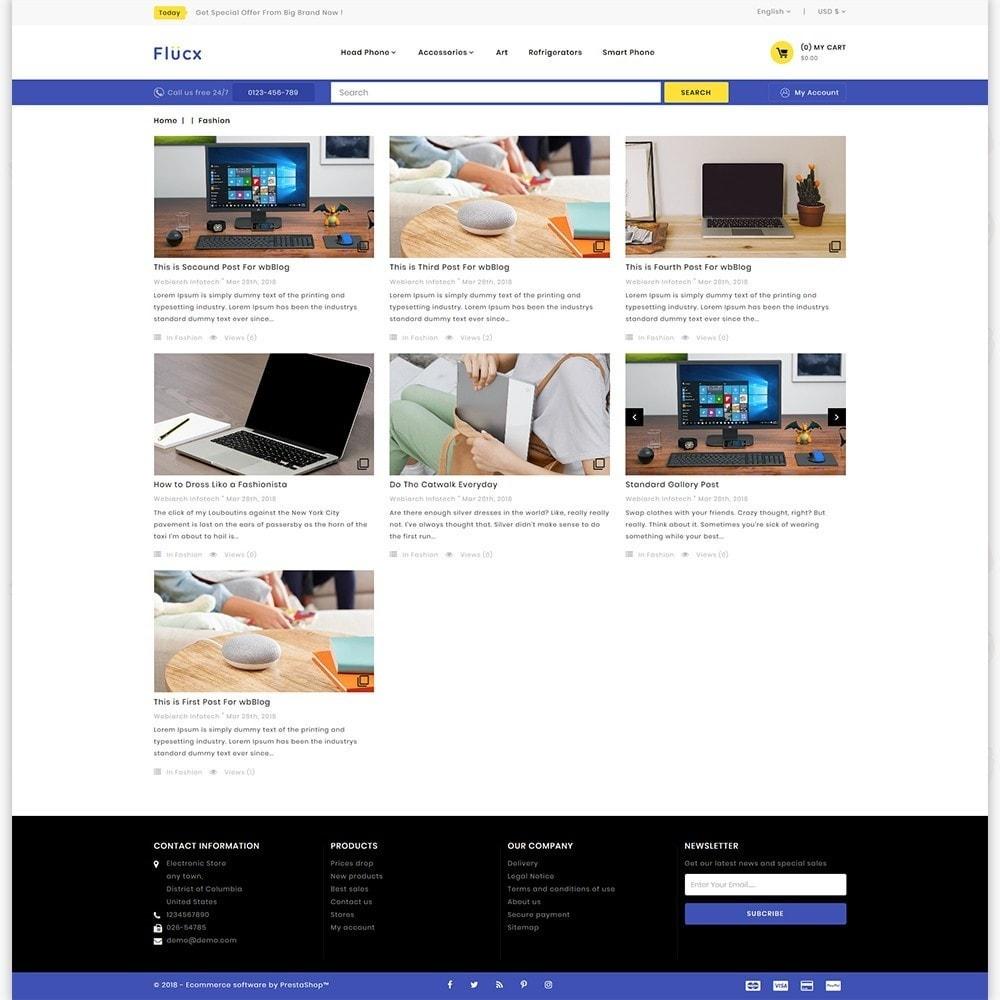 theme - Elektronik & High Tech - Flucx -  The Mega Store - 6
