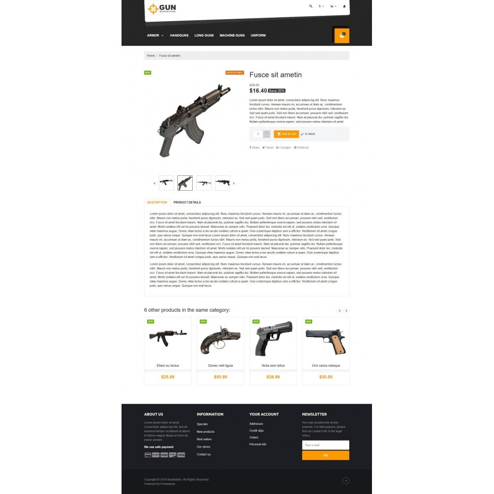 theme - Art & Culture - VP_Gun Store - 4