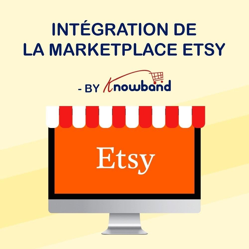 module - Marketplaces - Knowband - Intégration de la Marketplace Etsy - 1