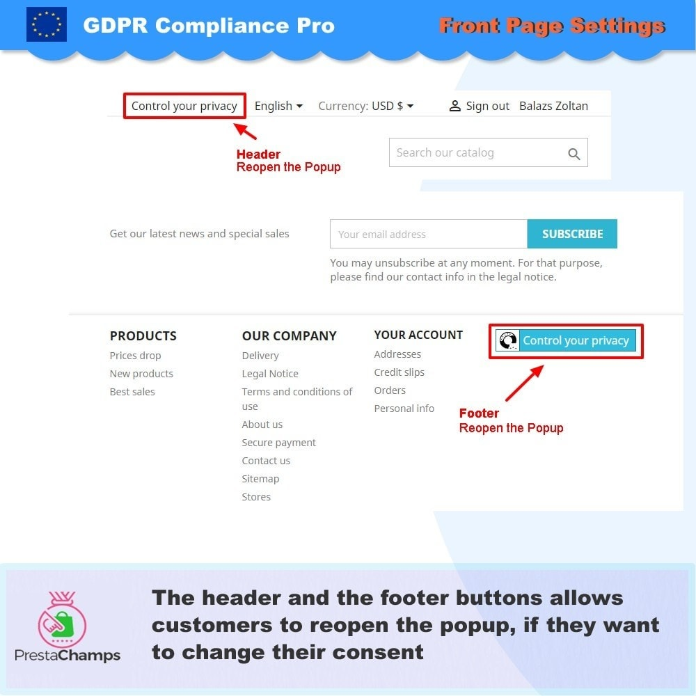 module - Legal - GDPR Compliance Pro - 6