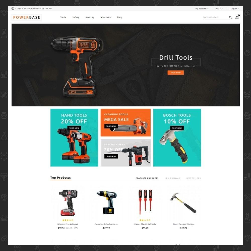 theme - Samochody - Powerbase Tool Store - 2