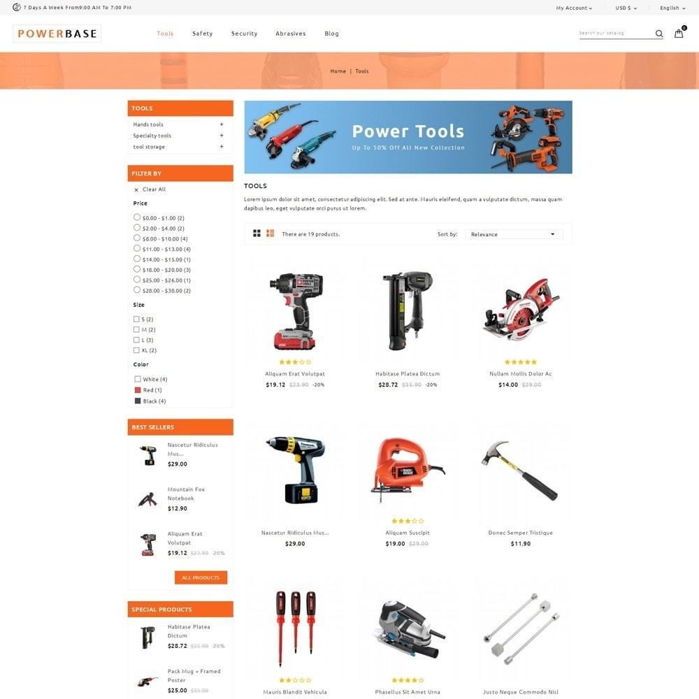 theme - Samochody - Powerbase Tool Store - 3
