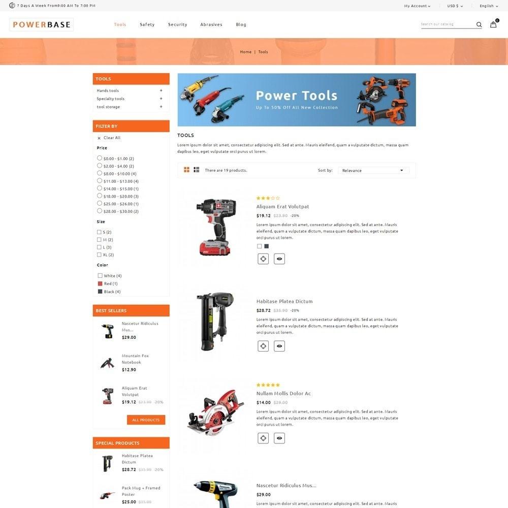 theme - Autos & Motorräder - Powerbase Tool Store - 4