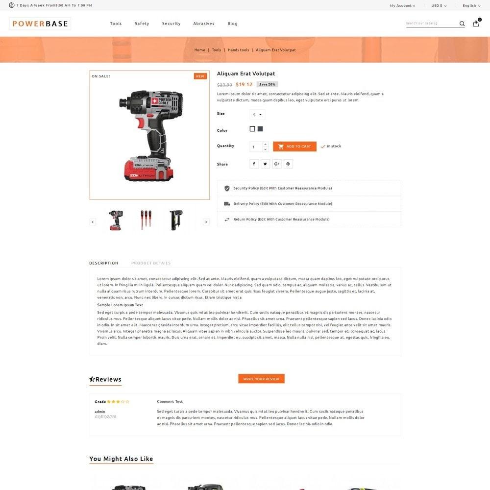 theme - Samochody - Powerbase Tool Store - 5