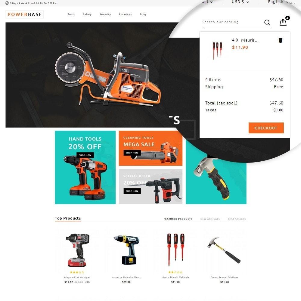 theme - Samochody - Powerbase Tool Store - 6