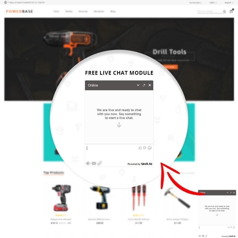 theme - Autos & Motorräder - Powerbase Tool Store - 7
