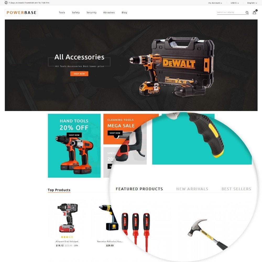 theme - Samochody - Powerbase Tool Store - 9