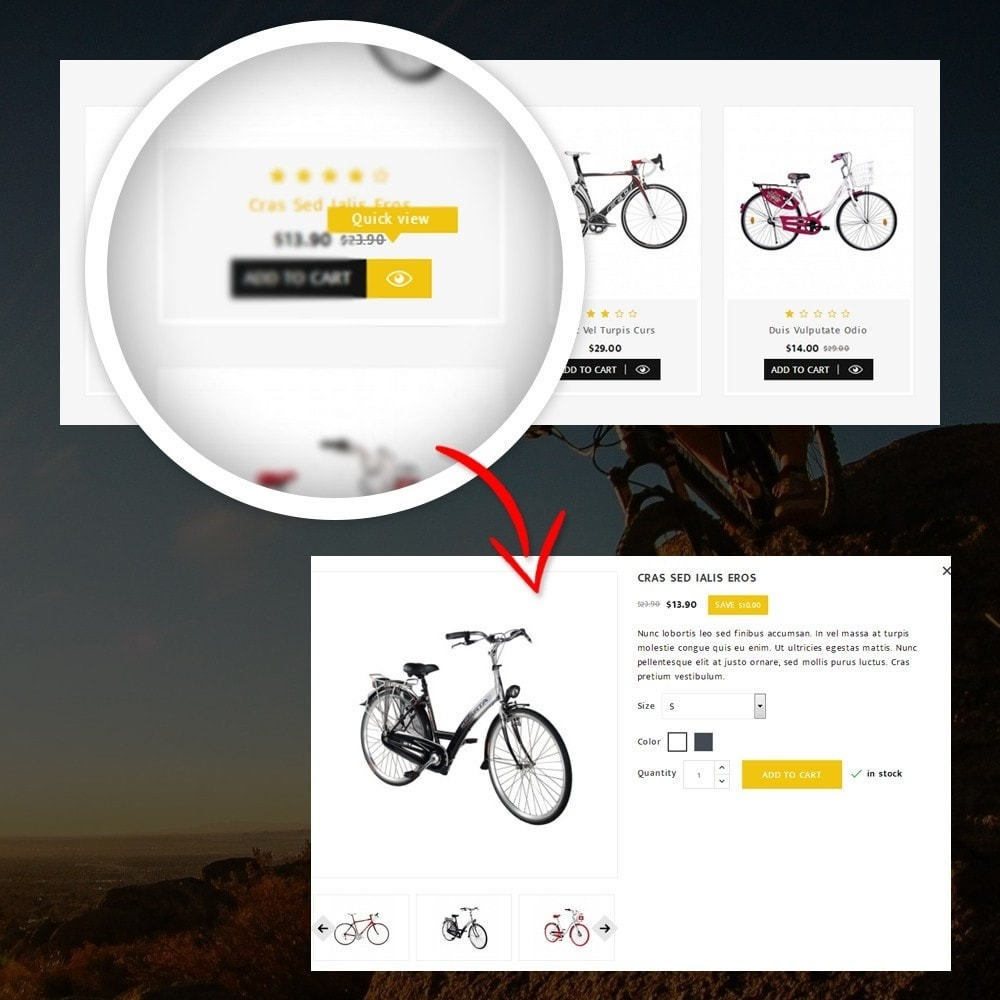 theme - Desporto, Actividades & Viagens - Sneaps - The Bicycle Store - 8