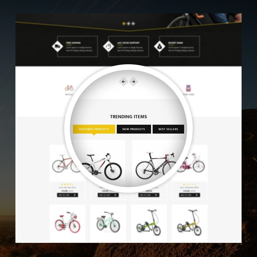theme - Desporto, Actividades & Viagens - Sneaps - The Bicycle Store - 9