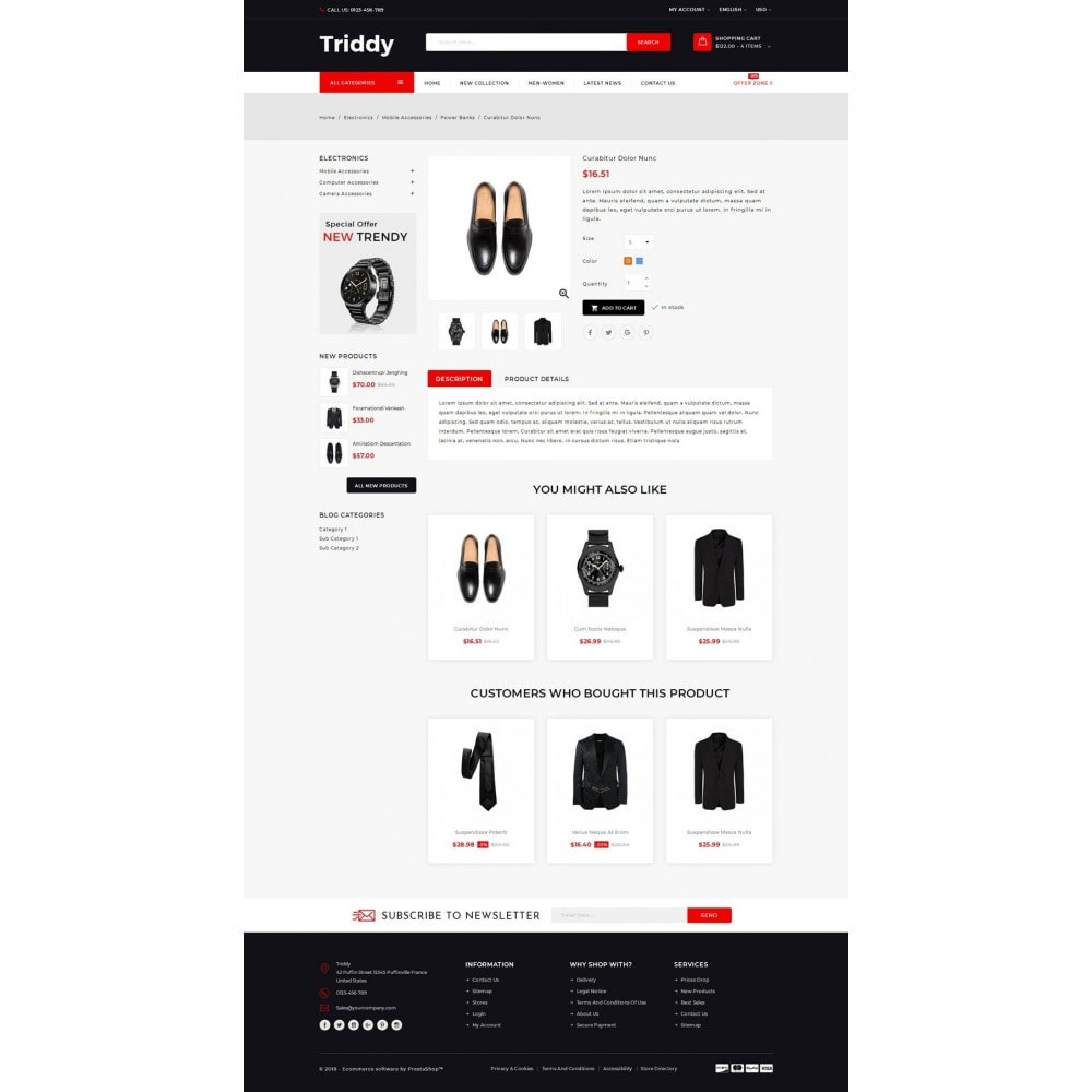 theme - Moda & Calzature - Triddy - Multipurpose Store - 4