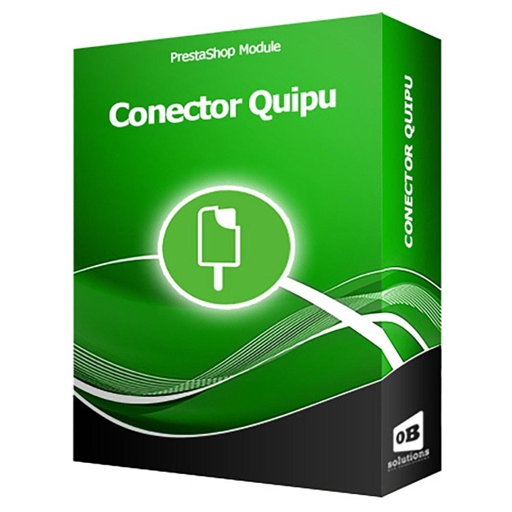 module - Integración con CRM, ERP... - Conector Quipu Oficial - 1