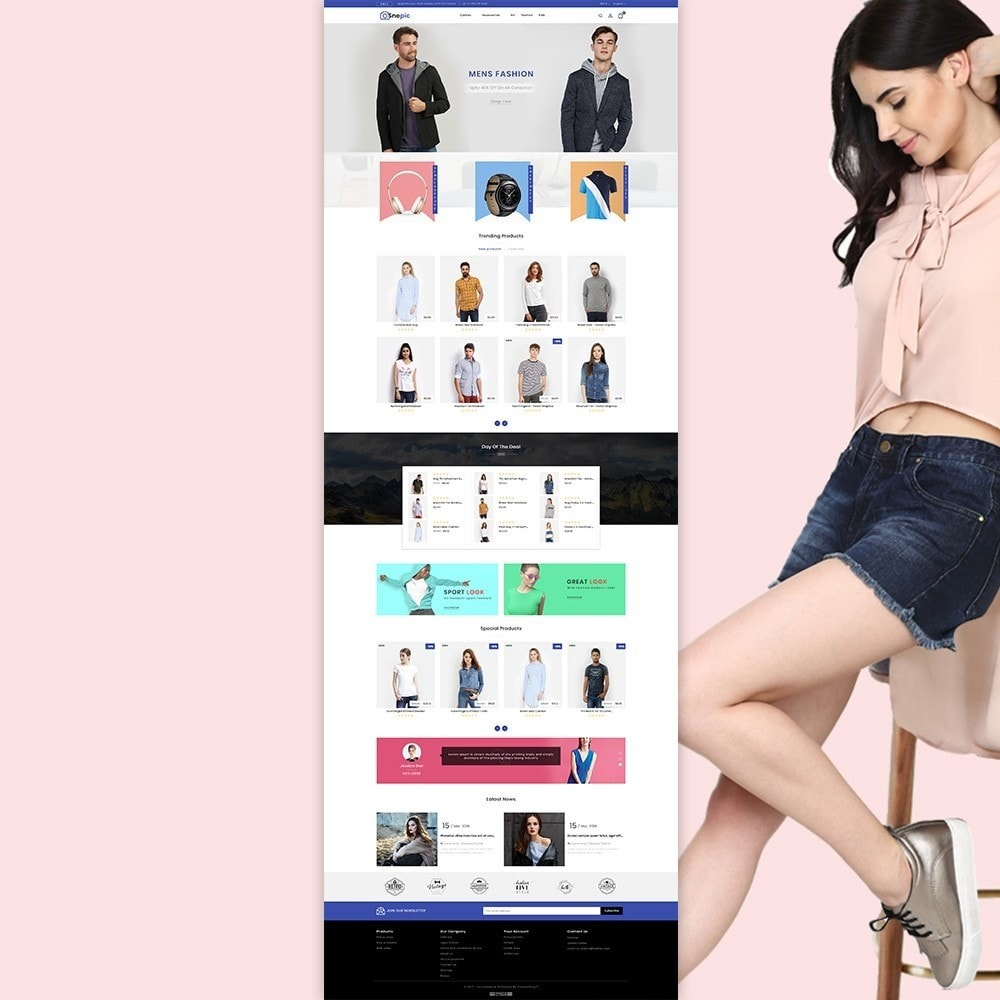 theme - Fashion & Shoes - Snepic - Fashion Store - 2
