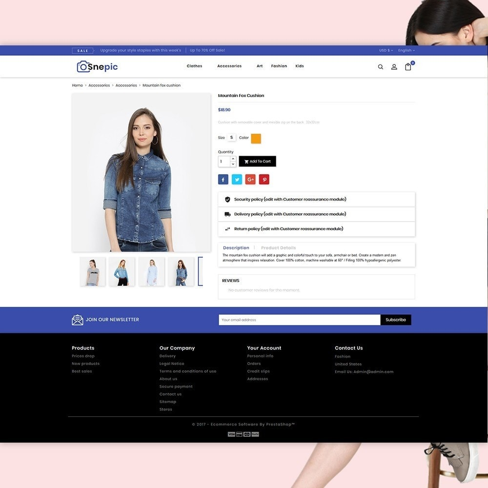 theme - Fashion & Shoes - Snepic - Fashion Store - 4