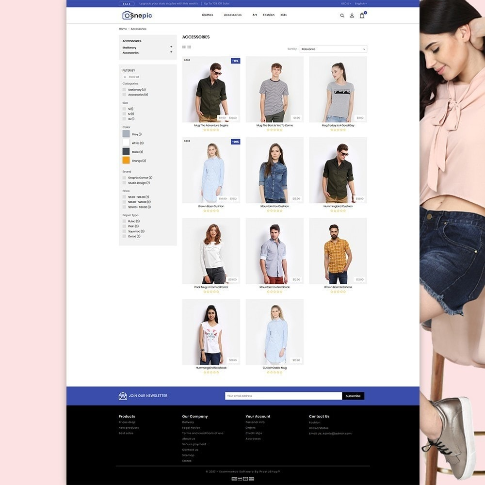theme - Fashion & Shoes - Snepic - Fashion Store - 5