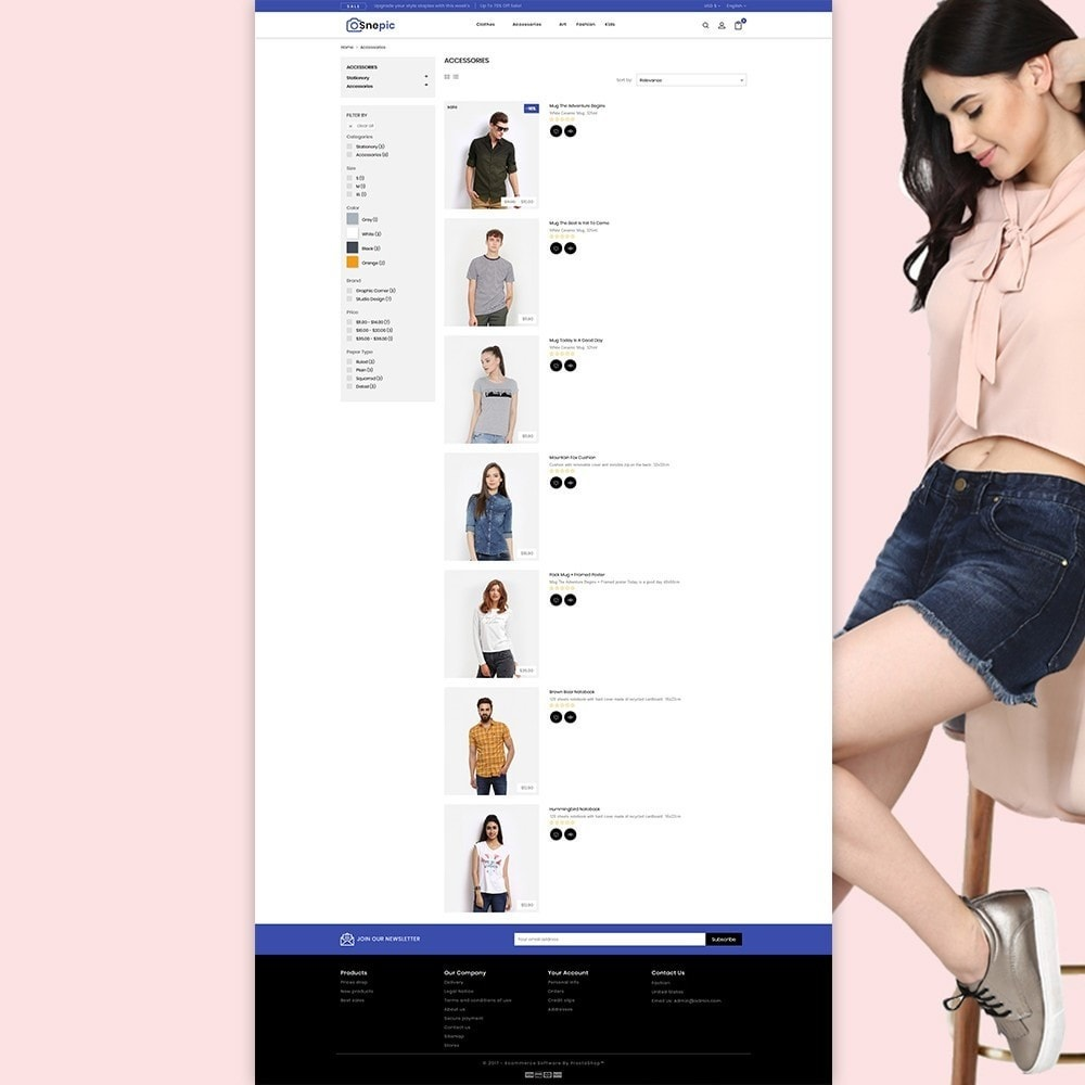 theme - Fashion & Shoes - Snepic - Fashion Store - 6