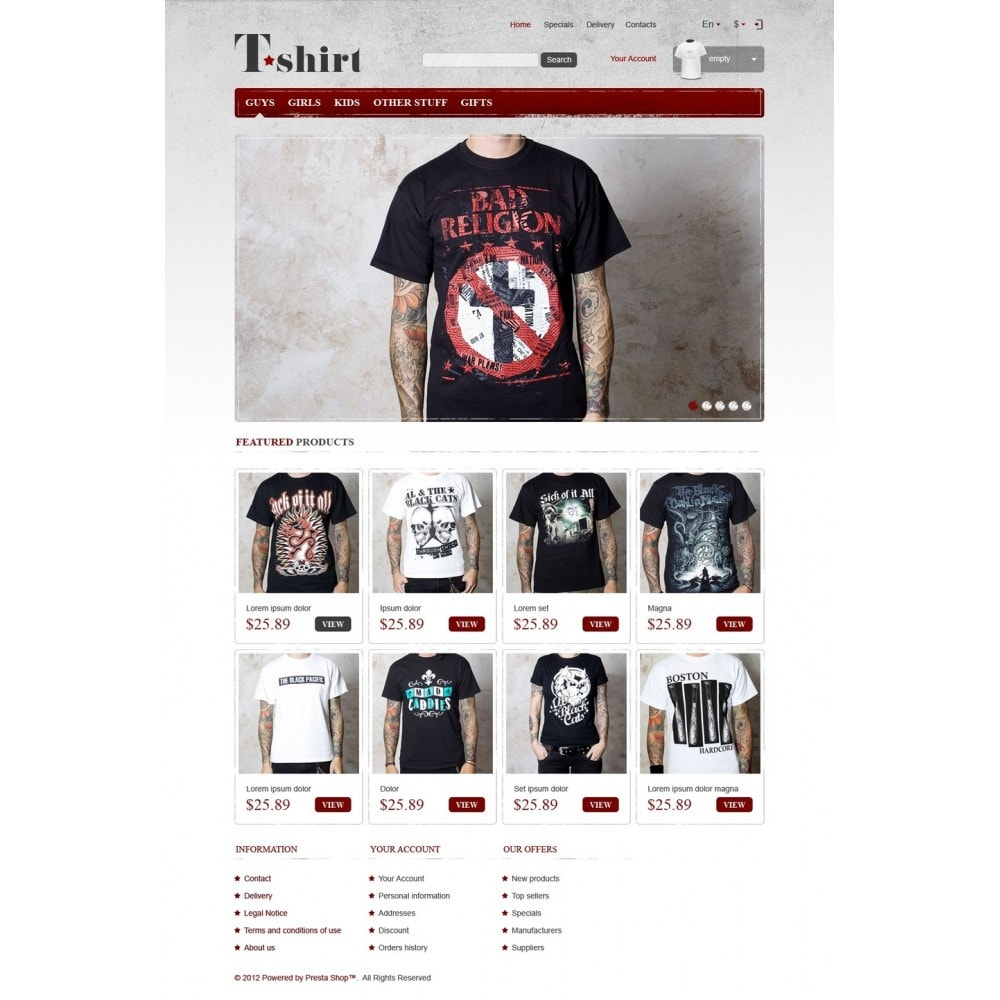 theme - Fashion & Shoes - Star T-Shirts Store - 5