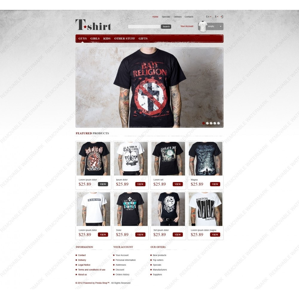 theme - Fashion & Shoes - Star T-Shirts Store - 6