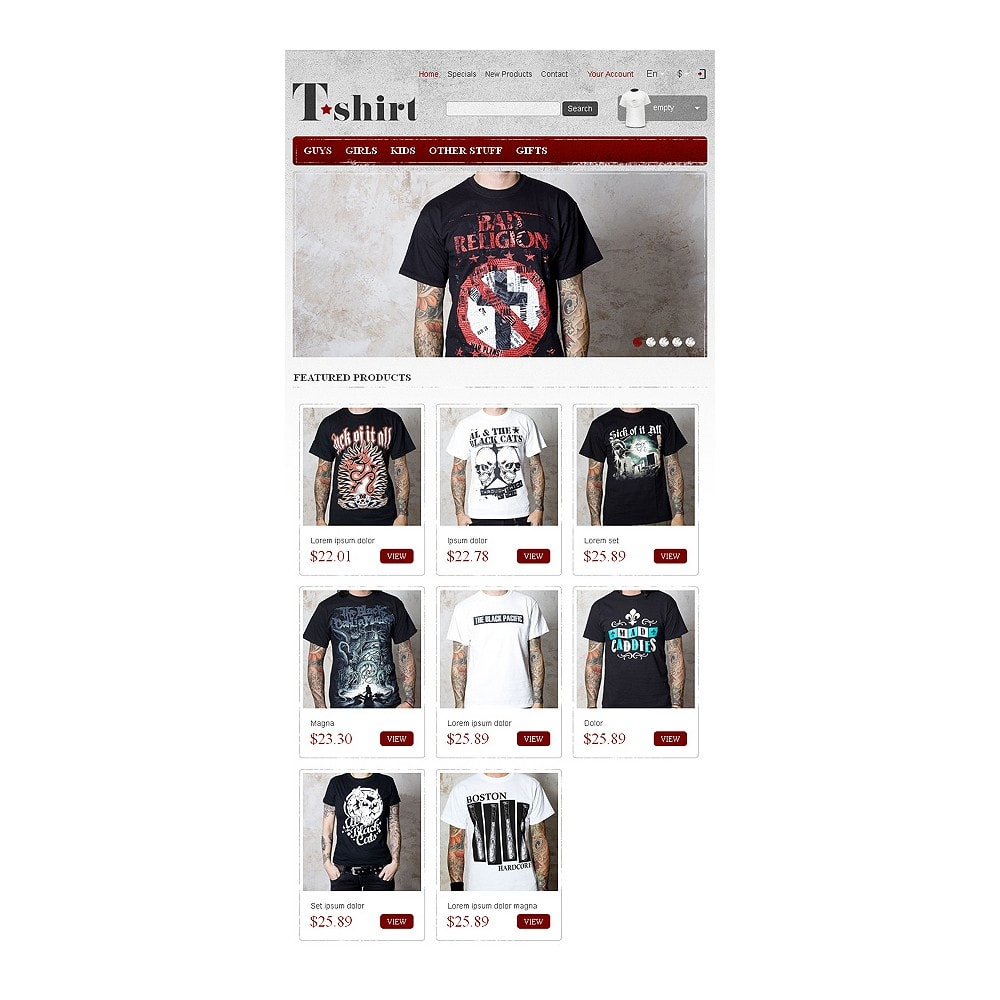 theme - Fashion & Shoes - Star T-Shirts Store - 8