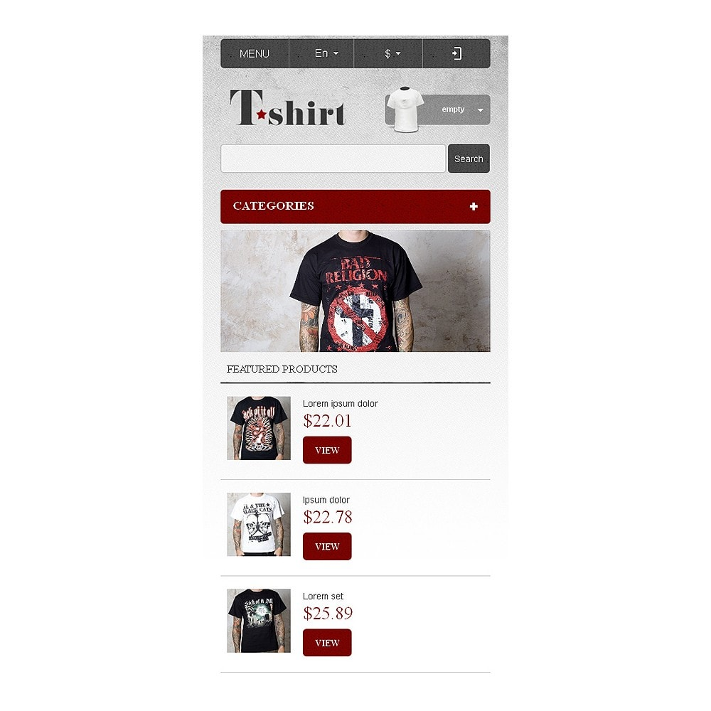 theme - Fashion & Shoes - Star T-Shirts Store - 9