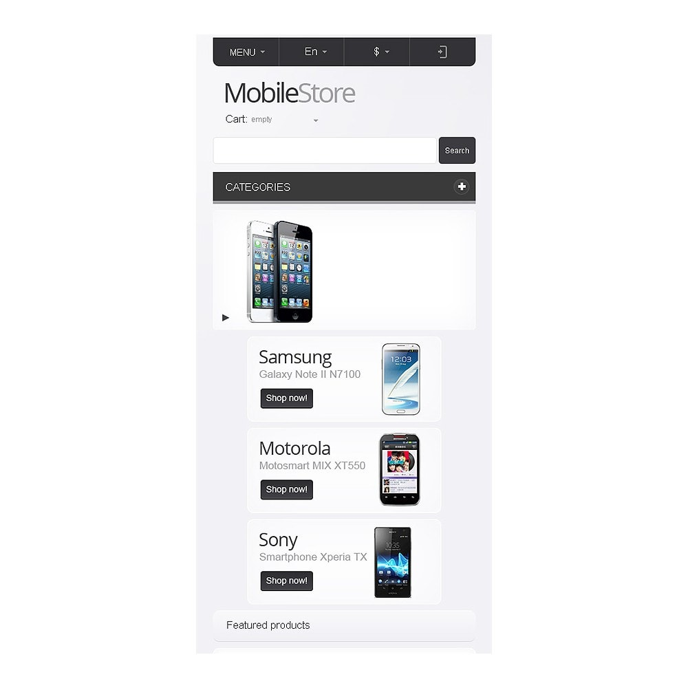 theme - Electronics & Computers - Responsive Mobile Store - 9