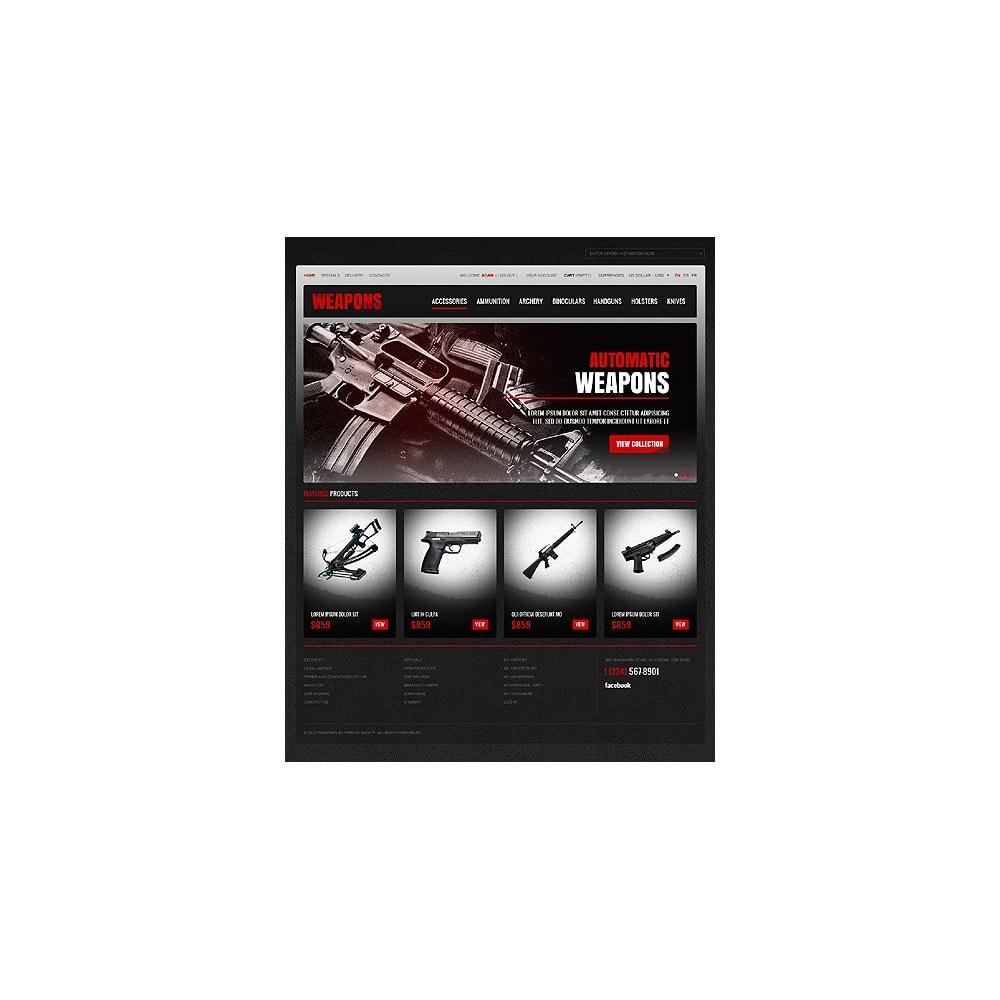 theme - Thèmes PrestaShop - Weapons Store - 1