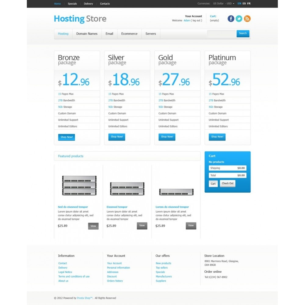 theme - Electronique & High Tech - Hosting Store - 5
