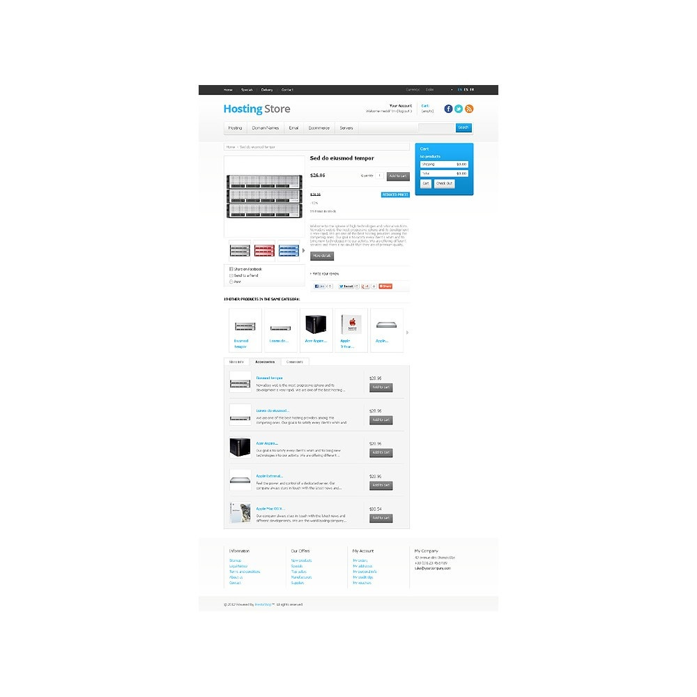 theme - Electronique & High Tech - Hosting Store - 6