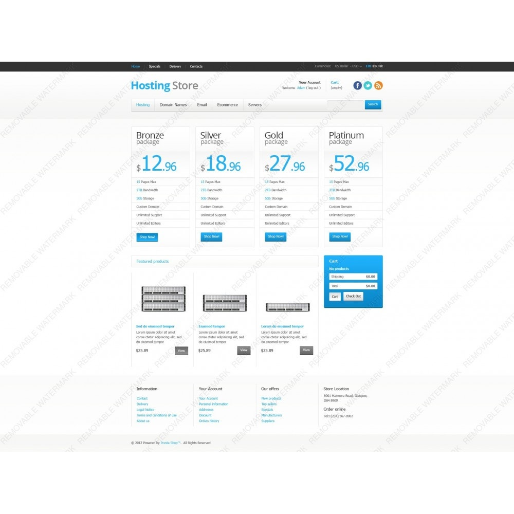 theme - Electronique & High Tech - Hosting Store - 7