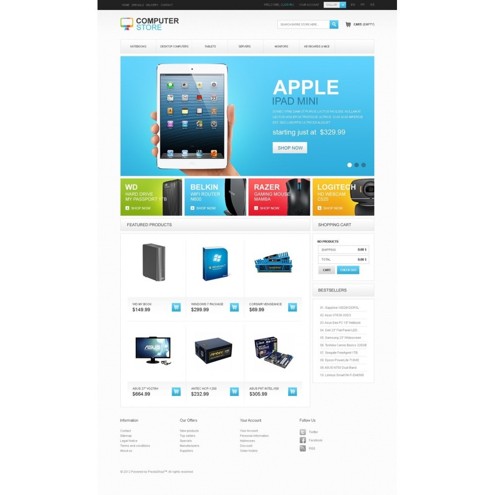 theme - Elettronica & High Tech - Computer Store - 5