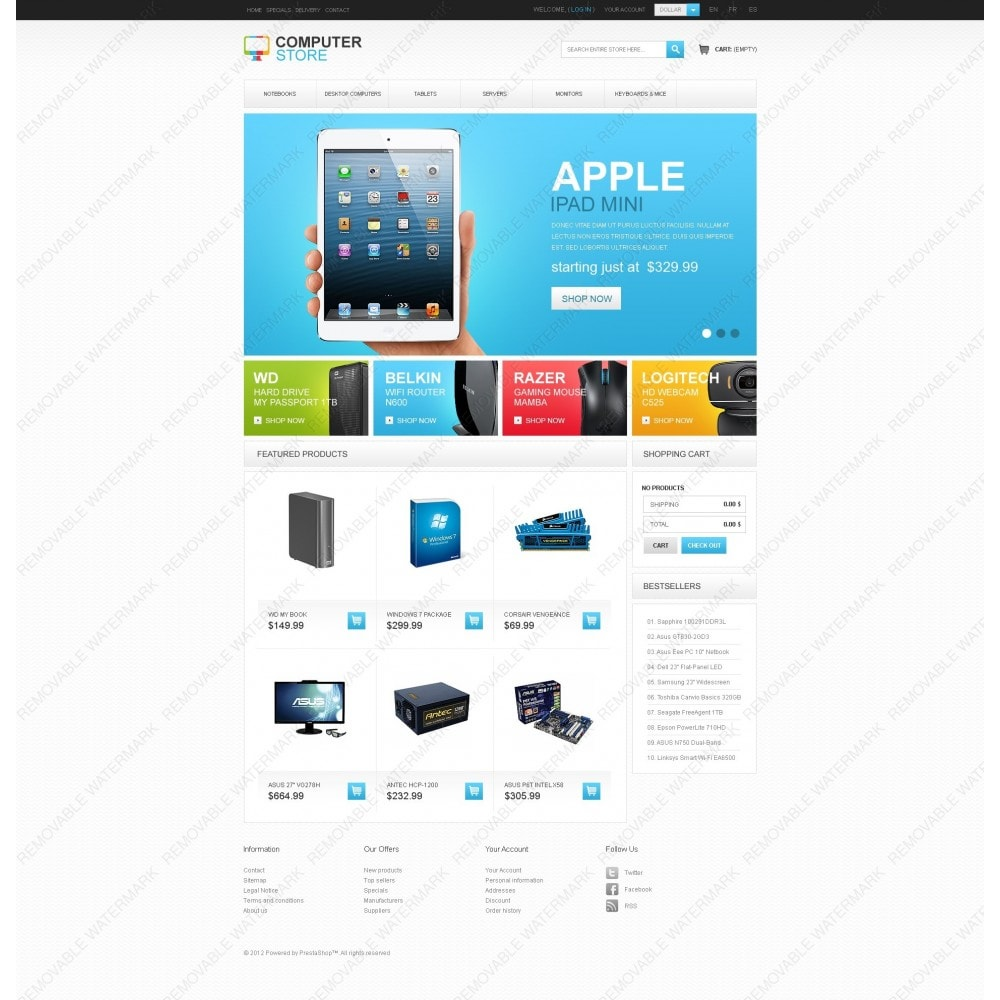 theme - Elettronica & High Tech - Computer Store - 7