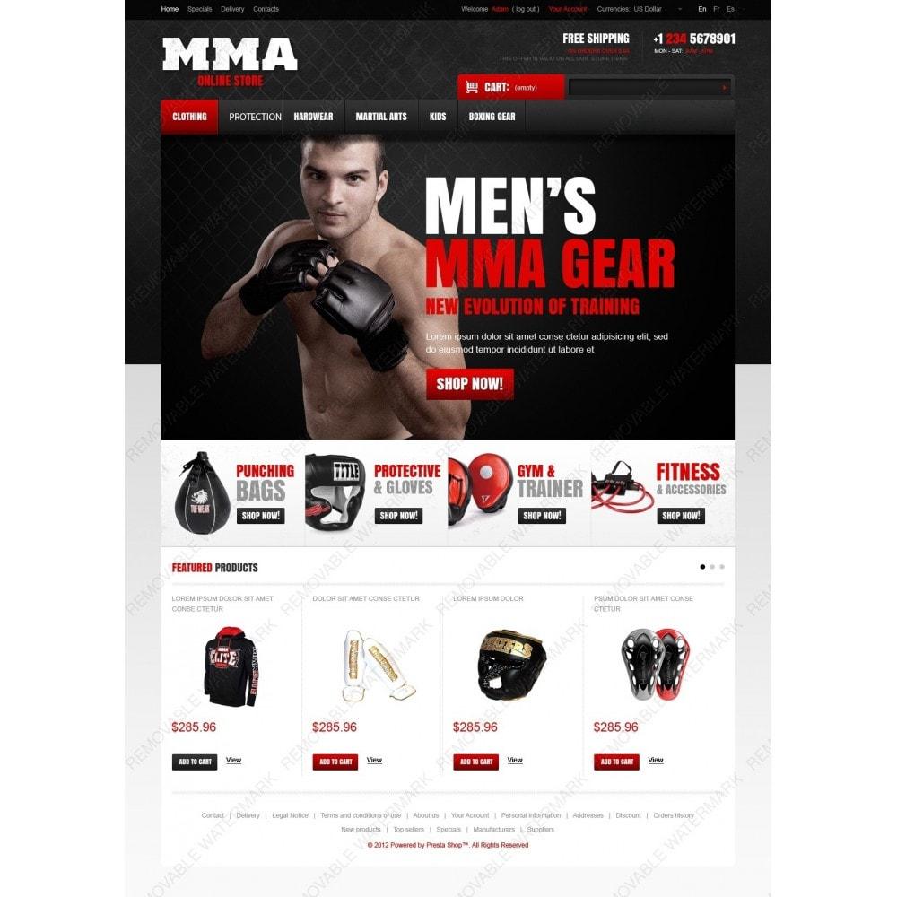 theme - Sport, Attività & Viaggi - Martial Arts Store - 2