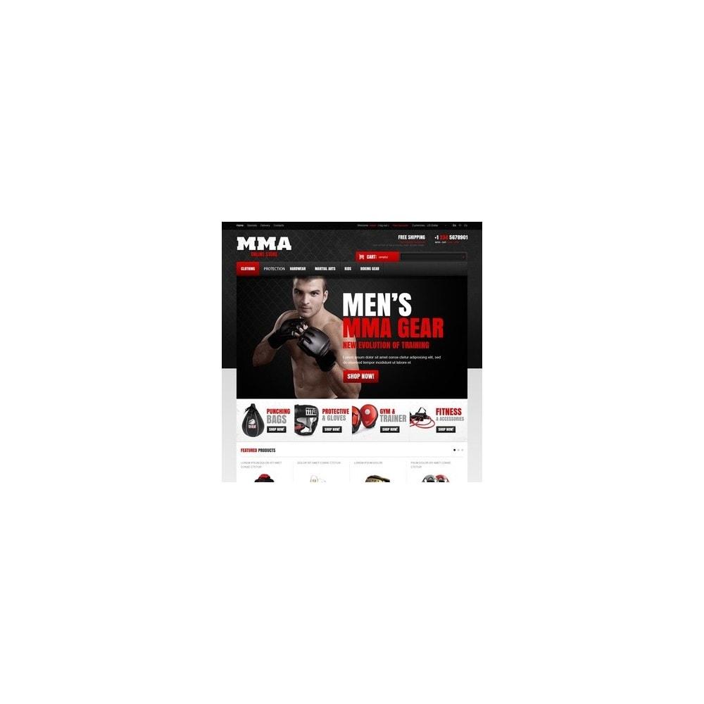 theme - Sport, Attività & Viaggi - Martial Arts Store - 4