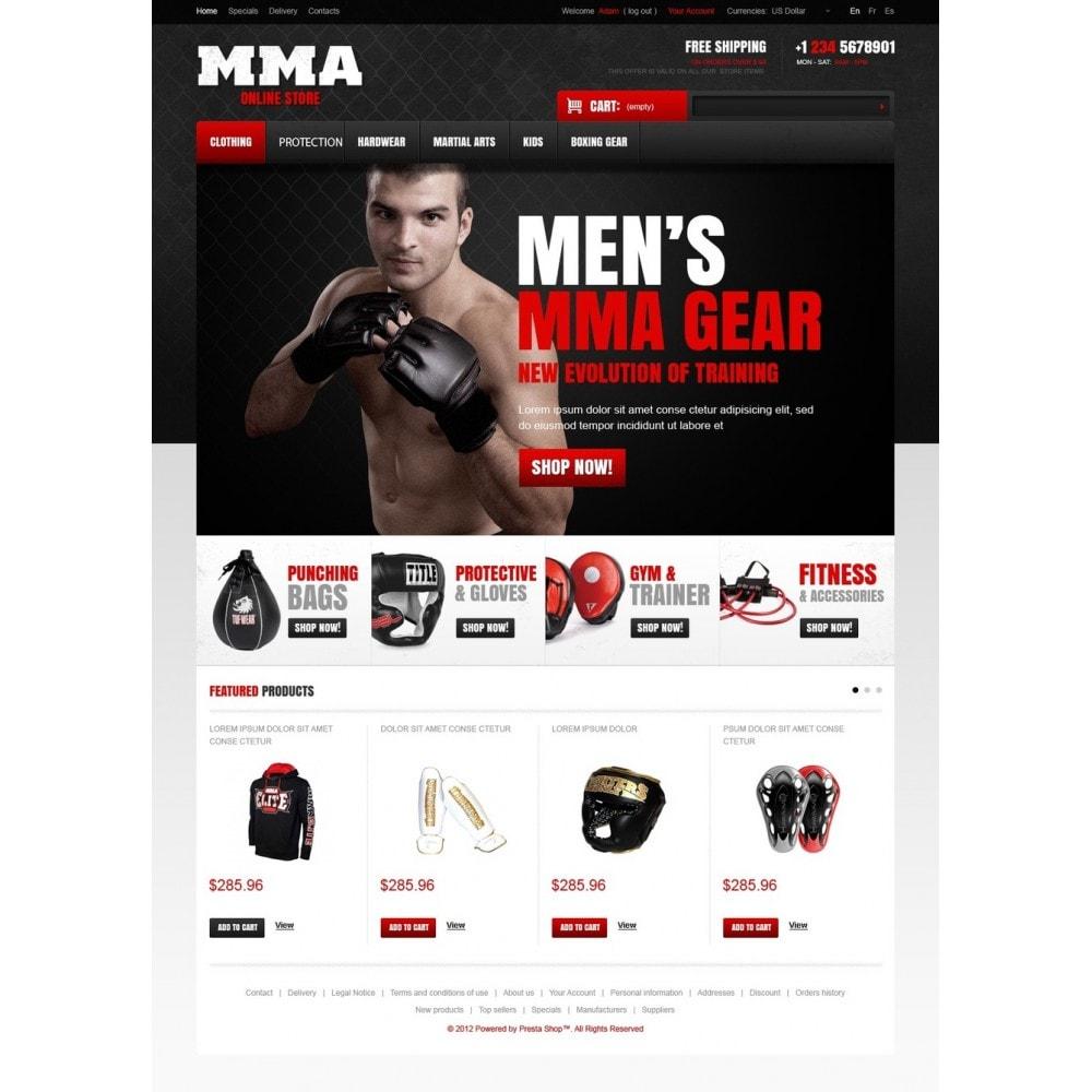 theme - Sport, Attività & Viaggi - Martial Arts Store - 5