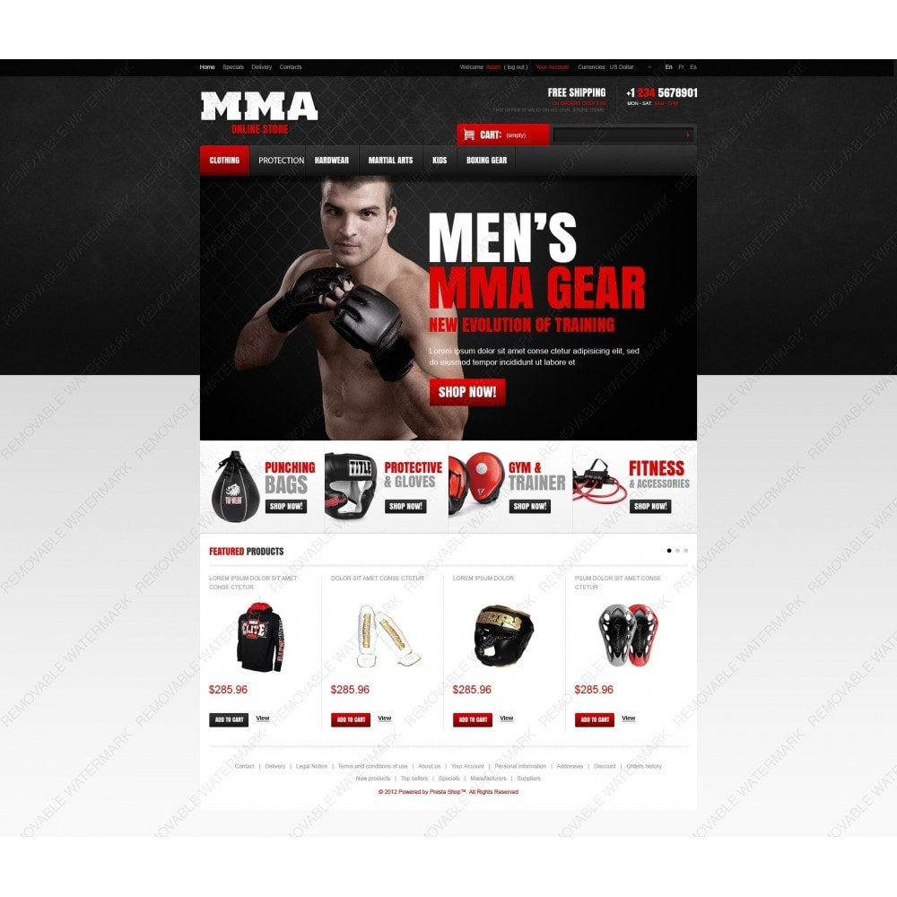 theme - Sport, Attività & Viaggi - Martial Arts Store - 7