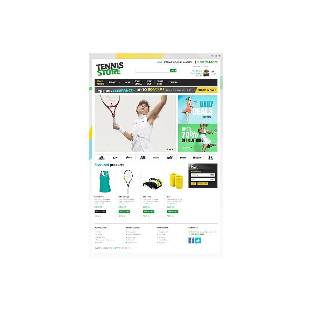 theme - Deportes, Actividades y Viajes - Racquets And Tennis Stuff - 1