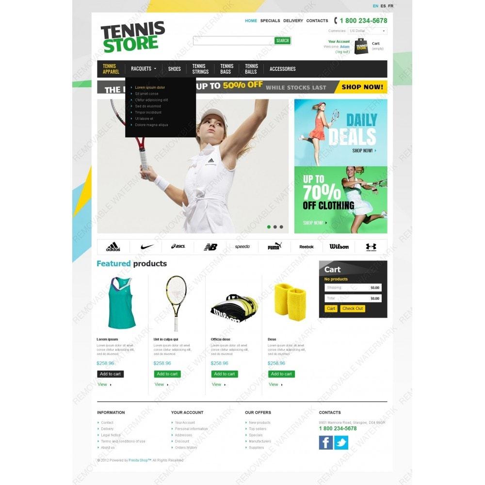 theme - Deportes, Actividades y Viajes - Racquets And Tennis Stuff - 2