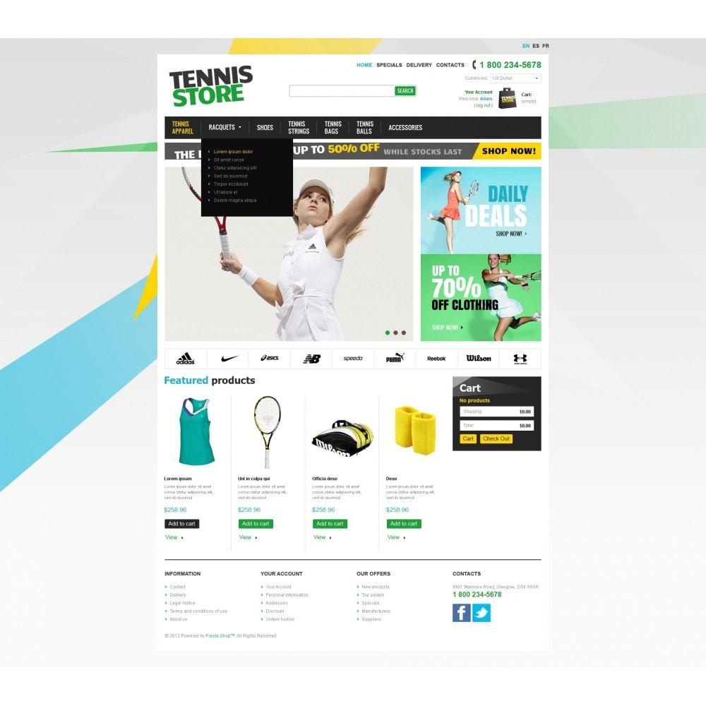 theme - Deportes, Actividades y Viajes - Racquets And Tennis Stuff - 3
