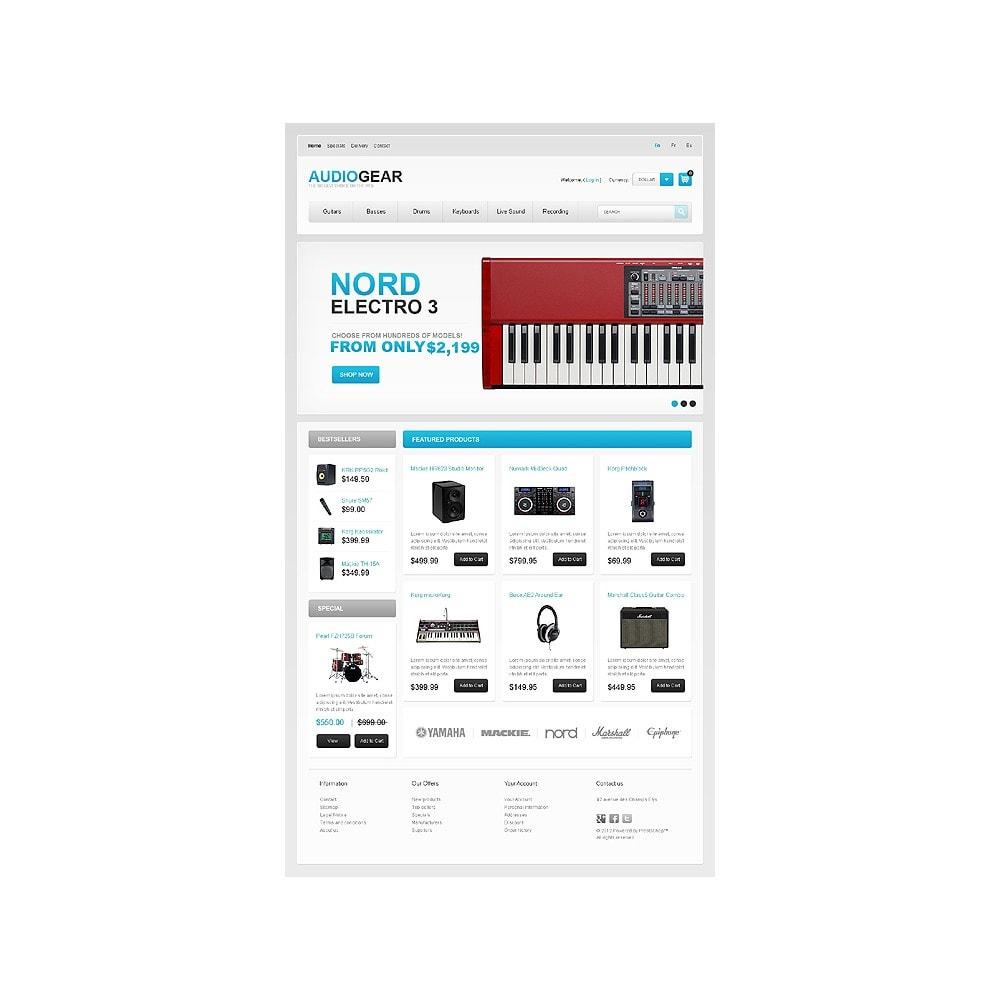 theme - Elektronica & High Tech - Audio Store - 1