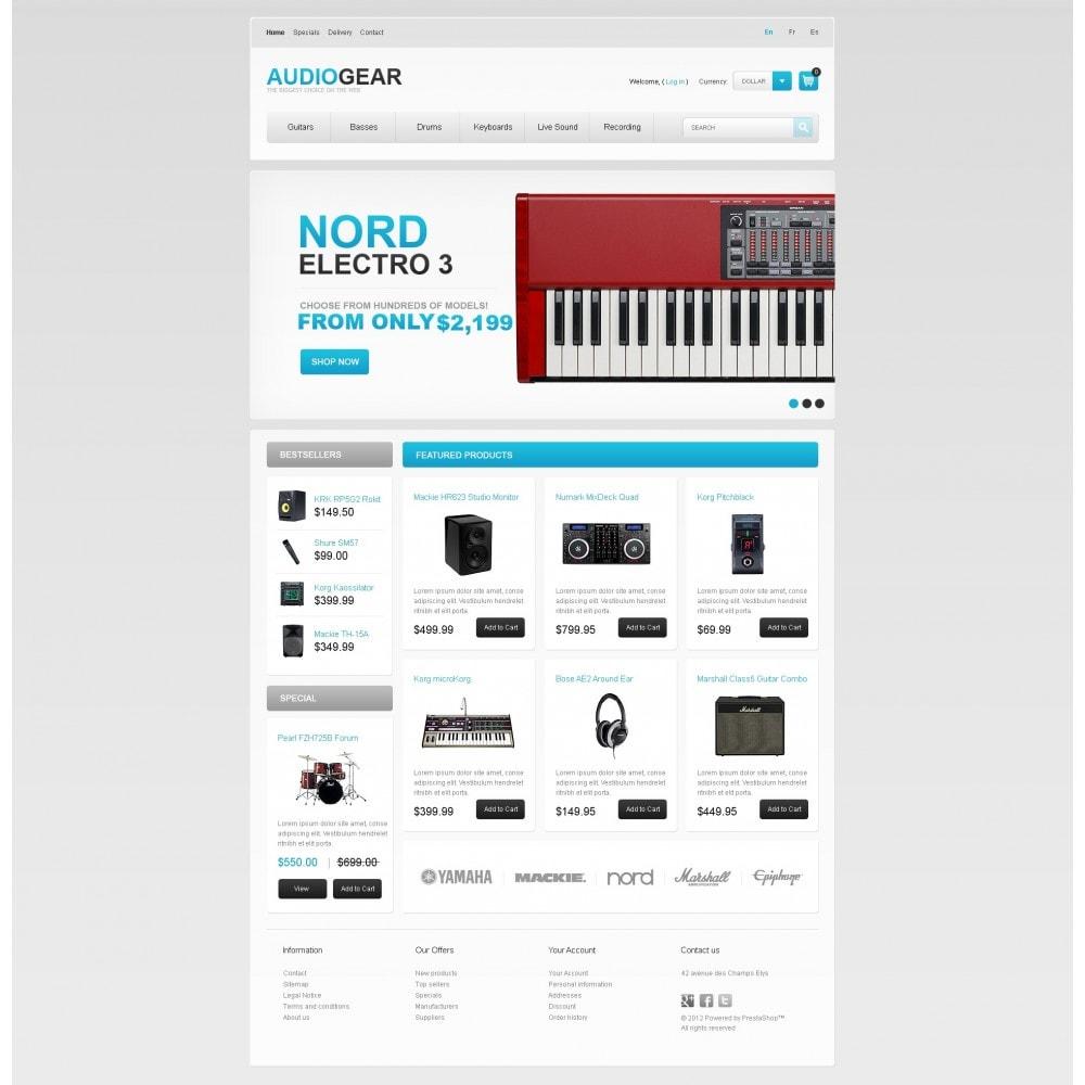 theme - Elektronica & High Tech - Audio Store - 3