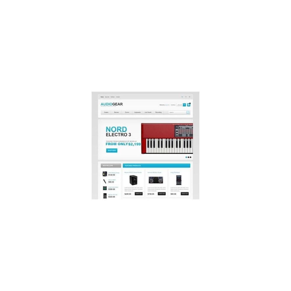 theme - Elektronica & High Tech - Audio Store - 4